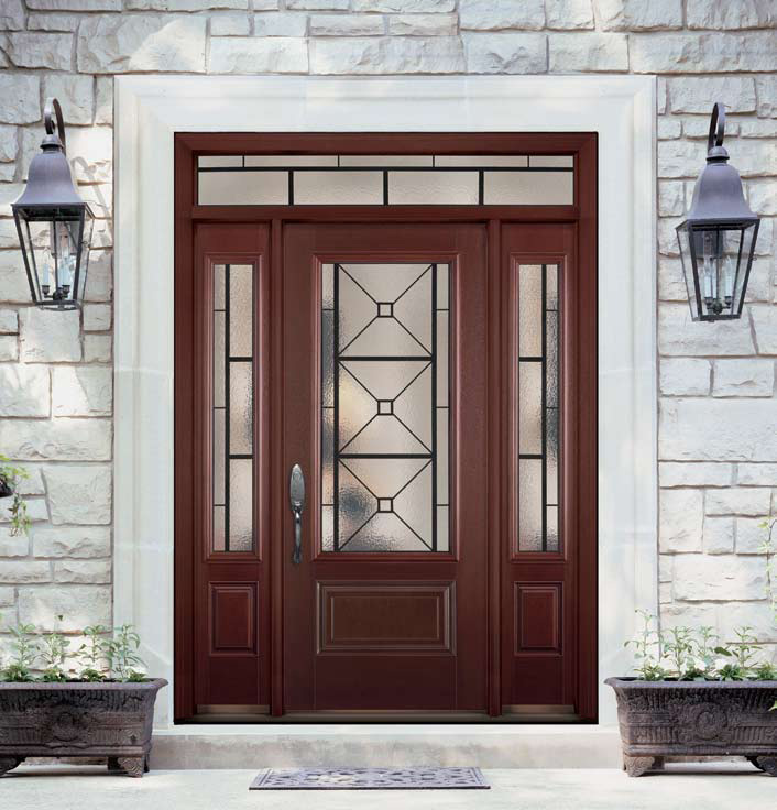 Quattro doors doors replacement door factory for Masonite belleville door price
